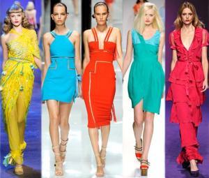 Bright Dresses SS 2012