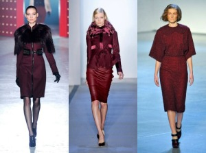 Jason Wu, Peter Som, and Rodarte showcase Oxblood 2012