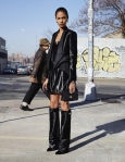 Joan Smalls in the boots of the year by Givenchy.