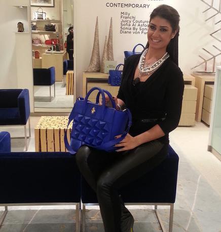 Luxury Handbag Designer, Sofia Al Asfoor.