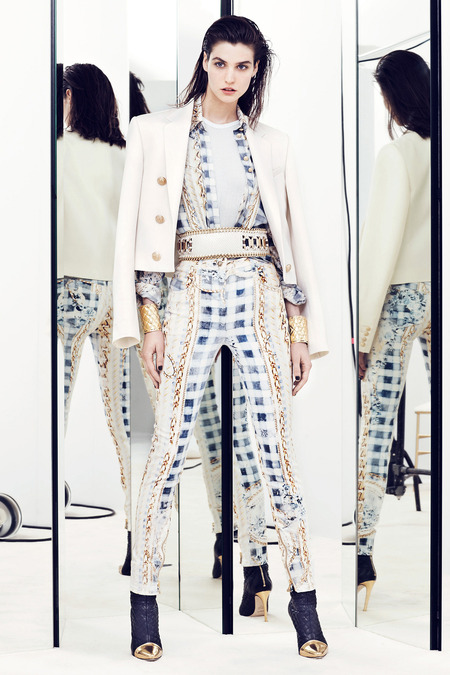 Balmain Today. A look  from the Resort 2014 collection.