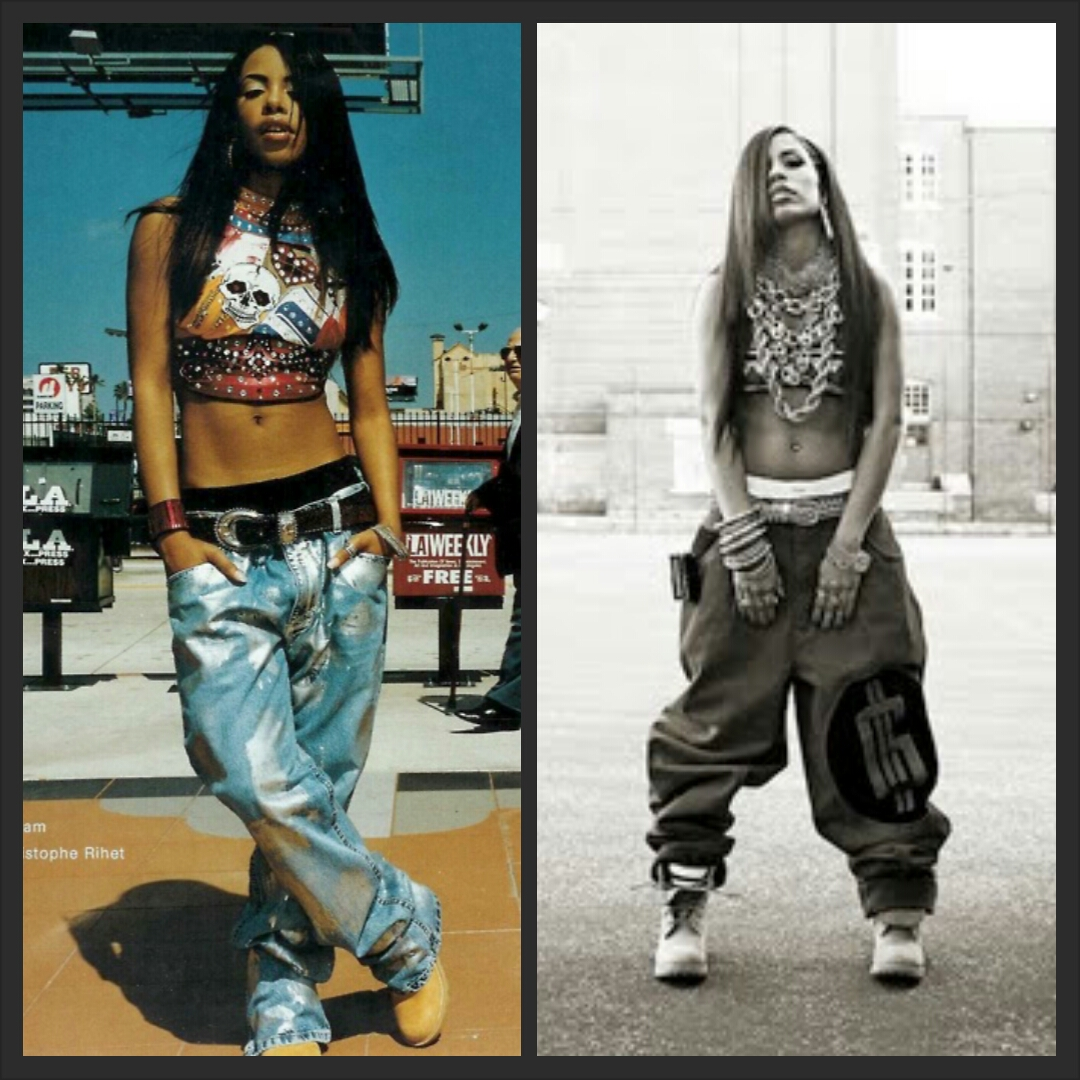 Aaliyah Style And Fashion Miss Mon T