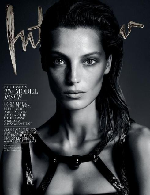 Daria Werbowy Interview September 2013