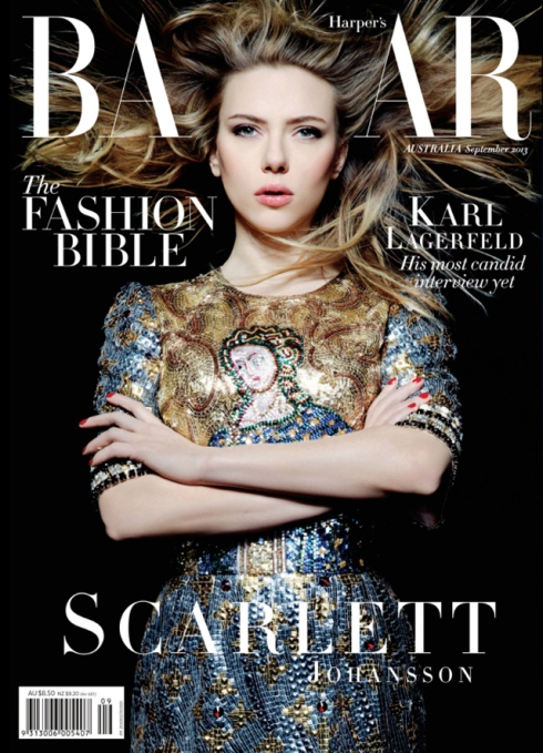 Harper's Bazaar Australia 2013