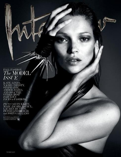 Kate Moss Interview Magazine 2013.