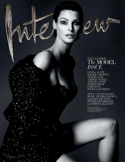 Linda Evangelista Interview September 2013