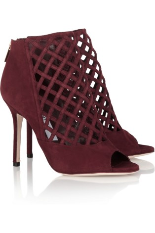 Jimmy Choo Drift Suede Booties
